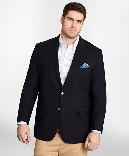 Big & Tall Two-Button 1818 Blazer
