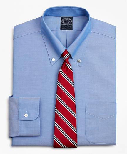 Stretch Big & Tall Dress Shirt, Non-Iron Pinpoint Button-Down Collar