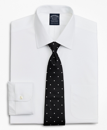 Stretch Big & Tall Dress Shirt, Non-Iron Poplin Ainsley Collar