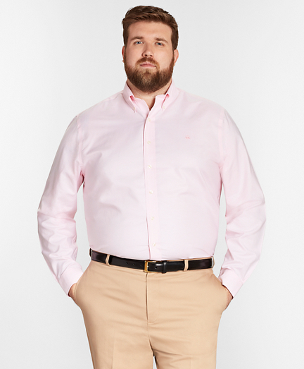 Non-Iron Big & Tall Oxford Sport Shirt