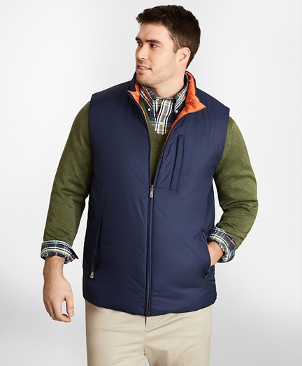 Big & Tall Reversible Quilted Down Vest