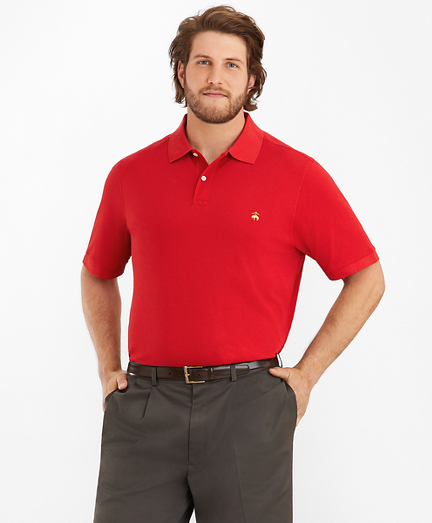 Big & Tall Supima® Cotton Performance Polo Shirt