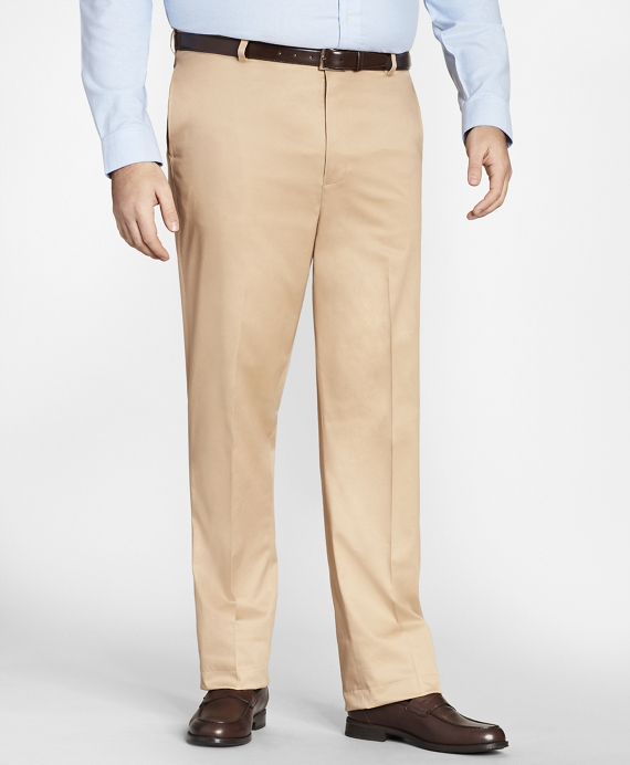 Big & Tall Lightweight Stretch Advantage Chino® Pants British Tan